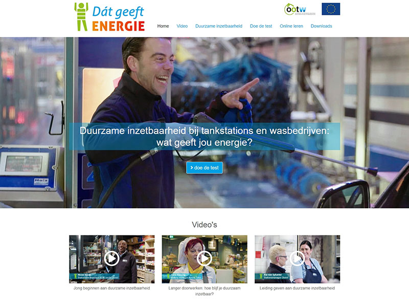 Website - Dat geeft energie
