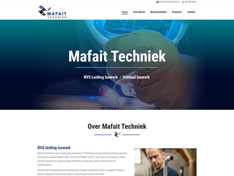Website - Mafait Techniek