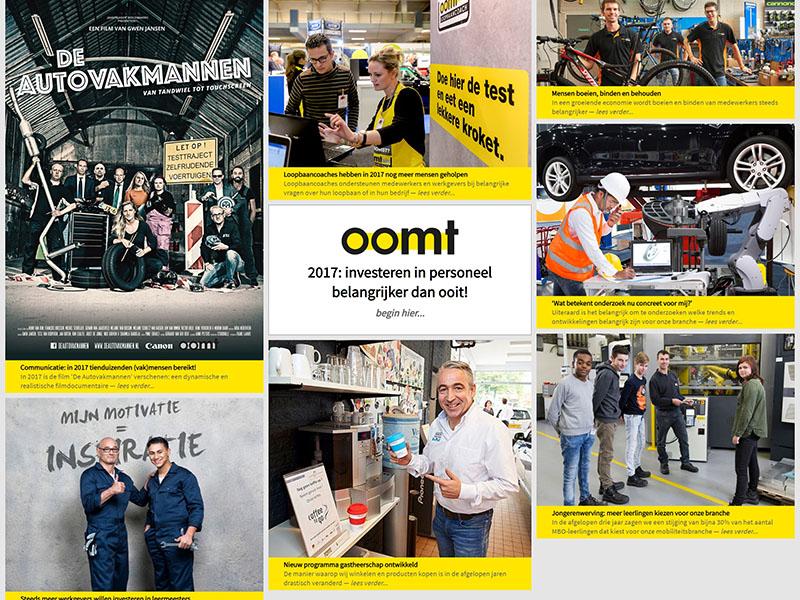 Website - OOMT jaarverslag 2017