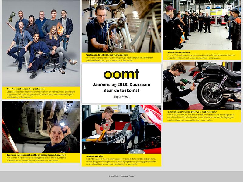 Website - OOMT jaarverslag 2018