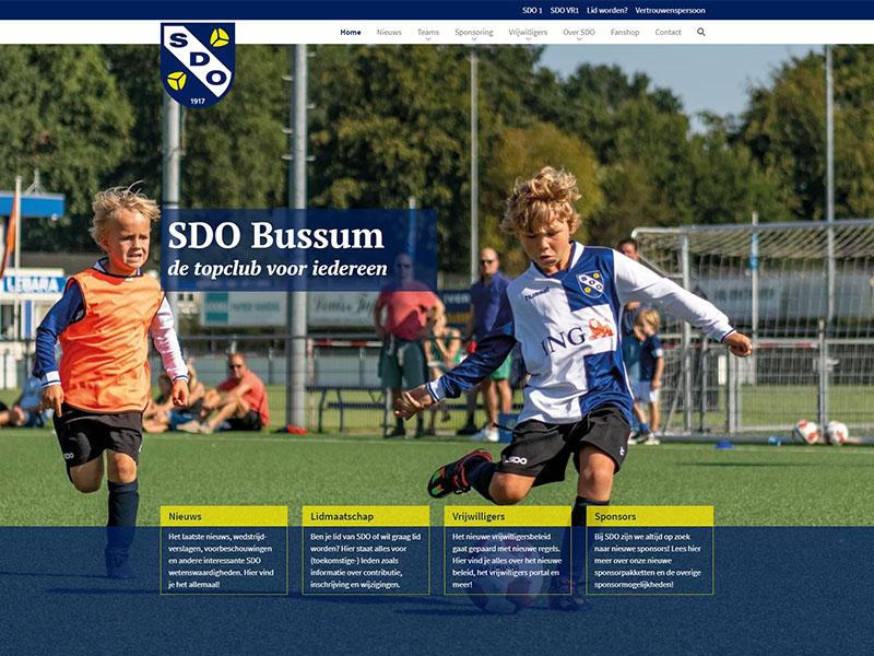 Website - SDO Bussum