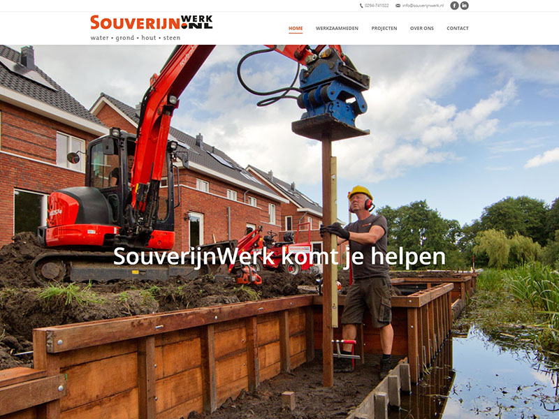Website - Souverijn Werk