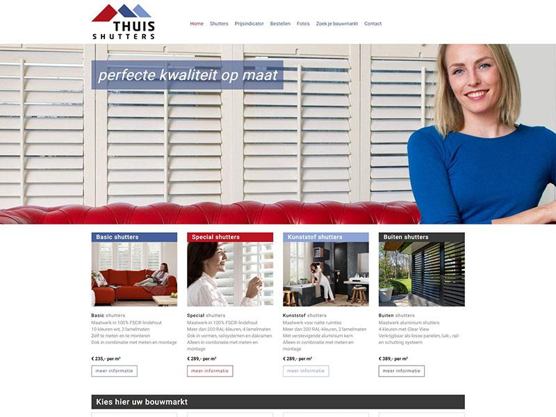 Website - ThuisShutters